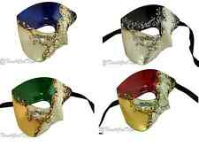 Phantom of the Opera Half Men Face Mask Venetian Masquerade - Musical Collection