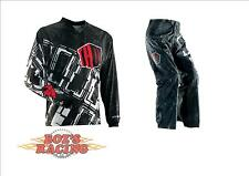 2014 THOR RACING MX STATIC BOXED JERSEY AND PANT GEAR COMBO OVER THE BOOT