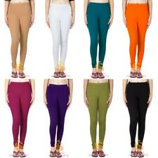 Indian Women Thick Cotton Churidar Leggings Yoga Pants Dance Trousers FREE SIZE