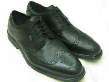 Mens Clarks Black Leather Shoes. Dry In Gtx