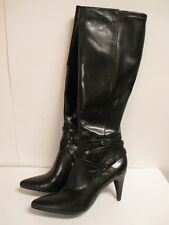 """Calvin Klein """"Norina"""" Stretch Knee High Boots Black New with Box"""