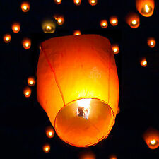 10/20/30 Chinese Sky Fly Lanterns The Best Wish Party Birthday Mix Color Lights