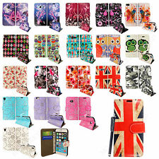 For Various Mobile Phones Magnetic Book Wallet Case Cover+Free Guard+Free Stylus