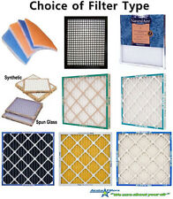 17.5 x 17.5 x 1 HVAC Air Filter (18 x 18 x 1) 17-1/2 x 17-1/2 x 1 = Choose Type
