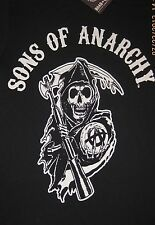Sons of Anarchy Reaper Logo T-Shirt Tee Officially Licensed SOA Merchandise