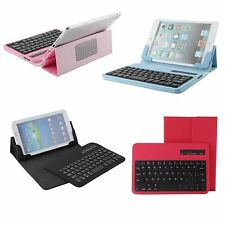 For ASUS MeMO Pad HD 7 ME173X ME173 Removable Bluethooth Keyboard Leather Case