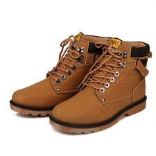 New Arrival Men's Short Boots FashionableQ Winter Warm Snow Boots Lace-up XMX035