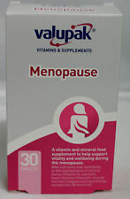 NEW Valupak MENOPAUSE Vitamins+Minerals Supplement 30s - from UK Pharmacy
