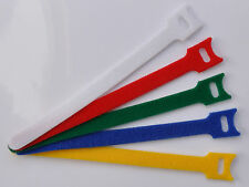 Velcro Cable Ties / Straps Re-usable Hook & Loop Cable Tidy