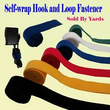 Self Wrap Fastener Double Side Hook and Loop Velcro Cable Wire Tie Straps Reuse