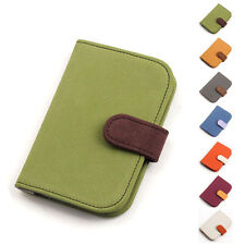 New online Best Suede Card wallet purse Wallet with 14 Card Pockets