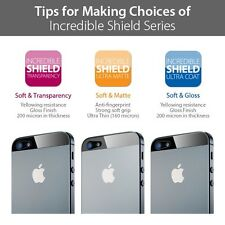 SPIGEN SGP Incredible shield Screen and Body Protector for iPhone 5S / iPhone 5
