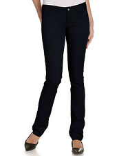 DICKIES GIRL NAVY SKINNY STRETCH PANTS JUNIORS 5 POCKET BOTTOM SIZES 0 to 15