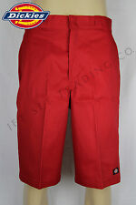"""DICKIES RED 13"""" MULTI POCKET WORK SHORT (NEW, Sizes 30 to 44)"""