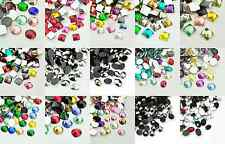 Acrylic Resin Cabochon Gems Various options & Sizes - Oval - Square - Round