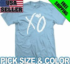 XO THE WEEKND ~ T-SHIRT drake weekend ovoxo hip hop rap dope trap ymcmb swag