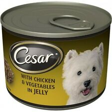 Cesar Wet Dog Food All Breeds Choice of Flavours in Jelly 12x190g Pack