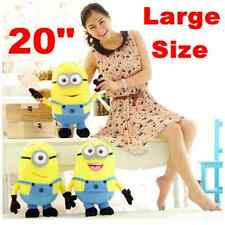 """20"""" Despicable Me 2 Plush Soft Toy In Movie Minion Minions 3D Eye Doll Xmas Gift"""