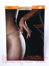 Sexy hot Women Oil Shiny Glossy Stocking pantyhose Tights With Grey Color *New*