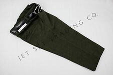 TODDLER BOYS DARK OLIVE DRESS PANTS PLEATED TROUSERS WITH BLACK BELT Sizes 2T-4T