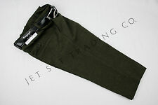 Toddler Dark Olive Dress Pants Trousers with Black Belt size 2T, 3T & 4T