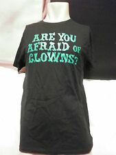 ARE YOU AFRAID OF CLOWNS SCARY T SHIRT BNWOT SZ M AWESOMELY FUNNY HALLOWEEN