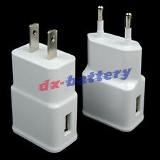 White 2AMP Wall Charger Power Adapter for Samsung Galaxy Note II III N7100 N9000