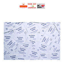 50x 100x 200x Alcotip Pre-Injection Swabs 70% IPA WIPES FAST SHIPPING CHEAP
