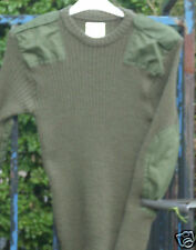 GENUINE BRITISH ARMY OLIVE GREEN JUMPERS