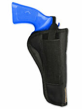 "Barsony OWB Belt Loop Gun Holster for 38 357 41 44 Rossi, Navy Arms 6"" Revolvers"