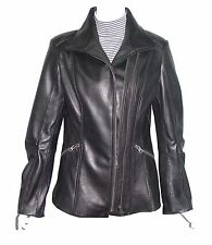 Plus Size & All  4196 Custom Leather Moto Jackets Clothing Womens Genuine Soft