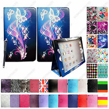 FOR APPLE IPAD MINI PU LEATHER MAGNETIC FLIP CASE PROTECTION COVER +GUARD+STYLUS