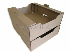 Vegetable Fruit & Herb Storage Packing Tray Fresh Produce Boxes 14.5 x 12 x 4""