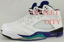 "EXCLUSIVE FREE SHIPPING MENS AIR JORDAN 5 RETRO ""GRAPE' MULTIPLE SIZES $350"