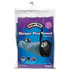 """SUPERPET SLEEPER PLAY TUNNEL 15.5"""" X 4.5"""" FOR CAGE SUPER PET FREE SHIP TO USA"""
