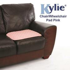 Kylie 1 Litre Absorbency Reusable Chair/Wheelchair Pad - 50x50cm (Pink or Blue)