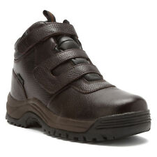 Propet Mens CLIFF WALKER STRAP Bronco Brown Leather Trail/Hiking Boots MPRX85BRO