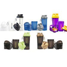 Pick 2 - SmartShake Smart Shake Protein Shaker Mixer Cup 600ml - all colours