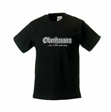 Kinder T-Shirt Oberhausen, you´ll never walk alone, Städteshirt (SFU01-27f)