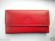 Womens Ladies Designer London LeatherGoods Real Leather Purse Wallet 12 Card Bag