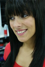 Clip On In Bangs - 100% Remy Human Hair Fringe Extensions - All Colors!