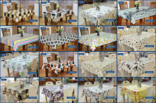 Indoor Outdoor Non-Slip Spill-proof Rectangle Tablecloth Table Cloth 2 Sizes