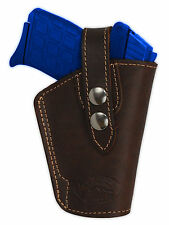 NEW Barsony OWB Brown Leather Holster Kel-Tec Taurus Sccy 380 Ultra-Comp 9mm 40