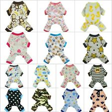 Cotton Pajamas Collection Dog Clothes Soft Pet Jumpsuit Cute Shirt Free Shipping