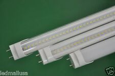 LED Tube Light Bulb Bar ST-T8 4ft 48 inch 21w Pure White Milky Clear Wholesale
