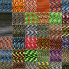 550 Paracord Mil Spec Type III 7 strand parachute cord 25 50 100 Ft *New Colors*