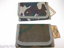 Boys Childs Army Camouflage Camo Wallet Party Bag Present Stocking Filler (118)