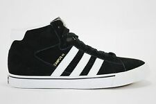 Adidas CAMPUS VULC MID Black White Matte Gold Skateboarding (192) Men's Shoes