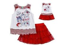 Dollie & Me Girl 5 6 6X and Doll Matching Patriotic Tutu Outfit American Girls