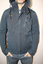 G STAR RAW New Recolite Storm Hooded jacket, battle navy, NEW with tags